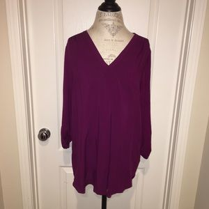 Purple Pleione tunic. Size Large.